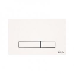 KOŁO Przycisk spłukujacy ELEGANT biały  94151-001 do stelaży Technic GT