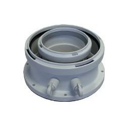 Adapter powietrzno-spalinowy 80/125 do Buderus GB012