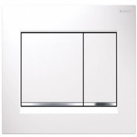 przycisk uruchamiaj cy geberit sigma 30 bia y chrom supernowa. Black Bedroom Furniture Sets. Home Design Ideas