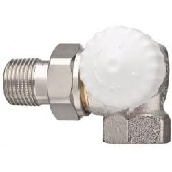 Zawór termostatyczny narożny V-exakt II DN15