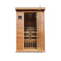 Sauna InfraRed T2 !!! PROMIENNIKI WĘGLOWE + PEŁNA OPCJA WYPOSAŻENIA !!!