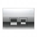 GEBERIT Przycisk spłukujący DELTA 50 chrom UP100 Dufix BASIC 115.135.21.1