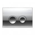 GEBERIT Przycisk spłukujący DELTA 21 chrom UP100 Dufix BASIC 115.125.21.1