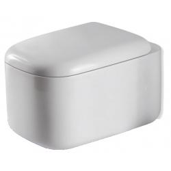 Miska wisząca WC ceramiczna Alterna EDEN + deska wolnoopadająca
