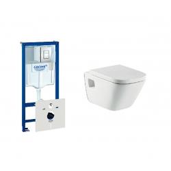 38827 Zestaw podtynkowy WC GROHE Rapid SL 5 w 1 SKATE + miska ROCA GAP + DESKA WOLNOOPADAJĄCA