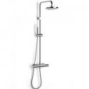 A5A2718C00 Roca VICTORIA-T Zestaw prysznicowy z drążkiem i baterią wannową termostatyczną chrom