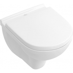 56881001 VILLEROY & BOCH O.Novo toaleta wisząca kompaktowa 360x490 mm biała + mata