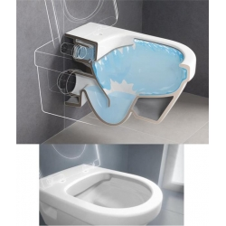 Miska WC podwieszana Villeroy&Boch SUBWAY 2.0 565x375 bez kołnierza wewnętrznego weiss alpin Z MATĄ POD WC GRATIS (95614R001)