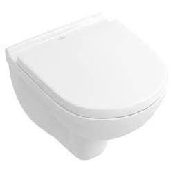 Villeroy & Boch O.NOVO zestaw miska WC wisząca Z MATĄ POD WC GRATIS 360 x 490 mm z deską wolnoopadającą weiss alpin 56881001+9M3