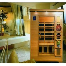 Sauna INFRARED MODEL U1 PEŁNA OPCJA PROMIENNIKI WĘGLOWE