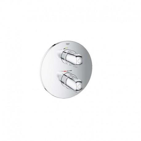 Bateria prysznicowa termostatyczna GROHE GROHTHERM 1000, podtynkowa, element zewnętrzny, chrom 1-odbiornik 19984000