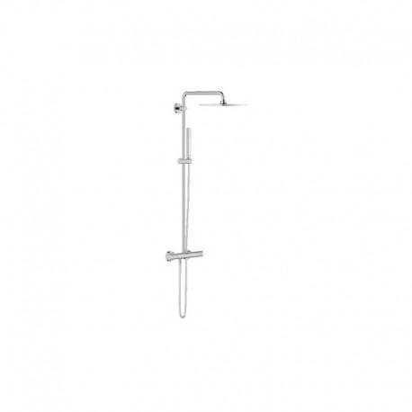 System prysznicowy z termostatem GROHE EUPHORIA CUBE XXL 230 do montażu ściennego chrom 26187000